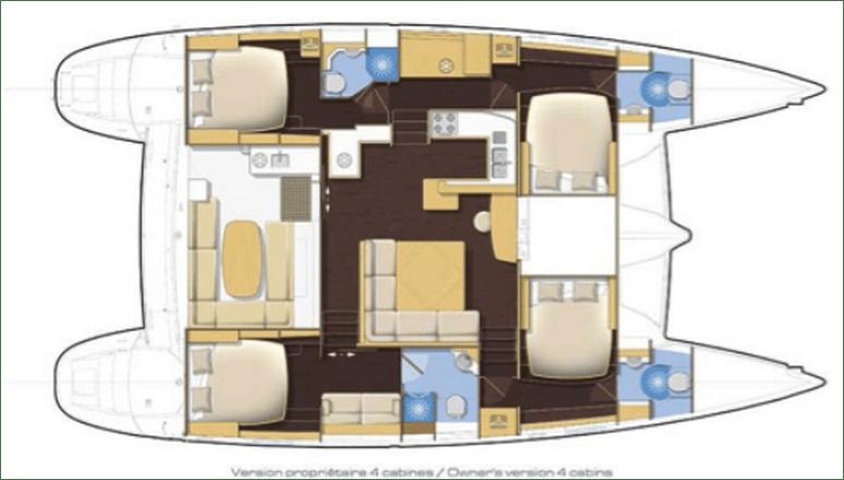 layout lagoon 500 Italycat