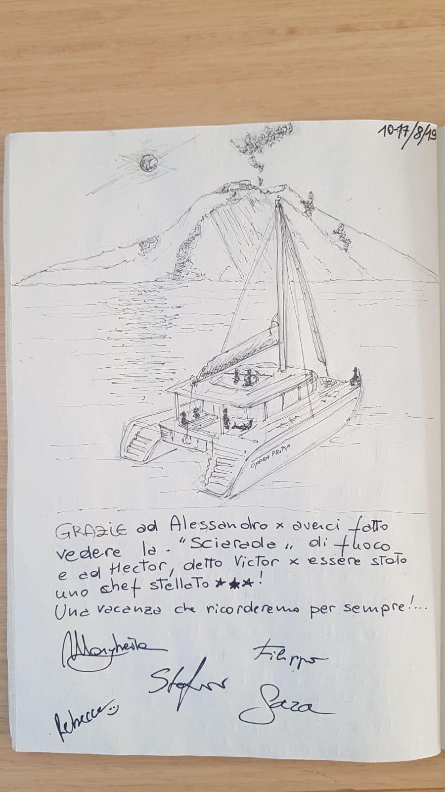 catamarano lagoon 450 Opera Prima