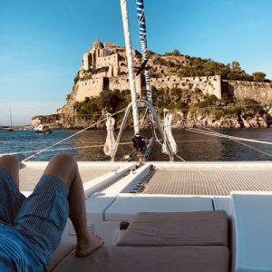 Charter in catamarano